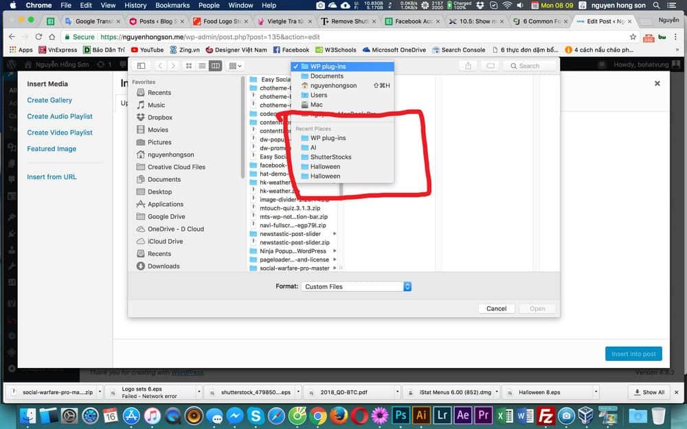 Tăng thêm Recent Places cho mac OS của bạn 2