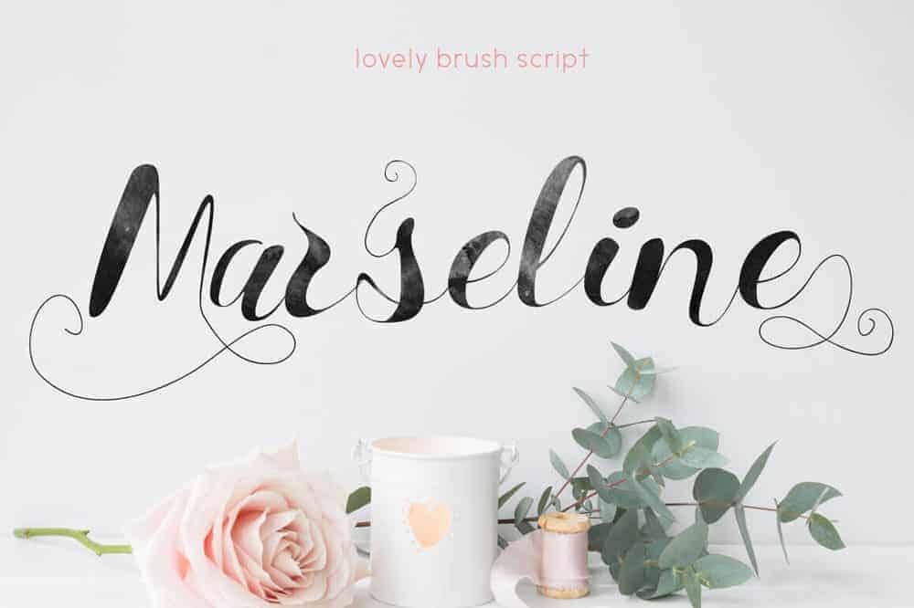 Font Marseline Ảnh 1