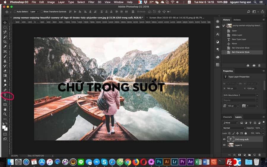 chữ-trong-suốt-photoshop ảnh 2