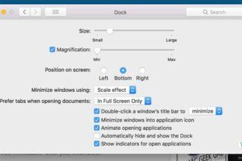 Chức năng của dock trên Mac OS