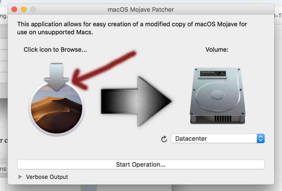 cài macOS mojave lên máy Mac không được hỗ trợ hình 2