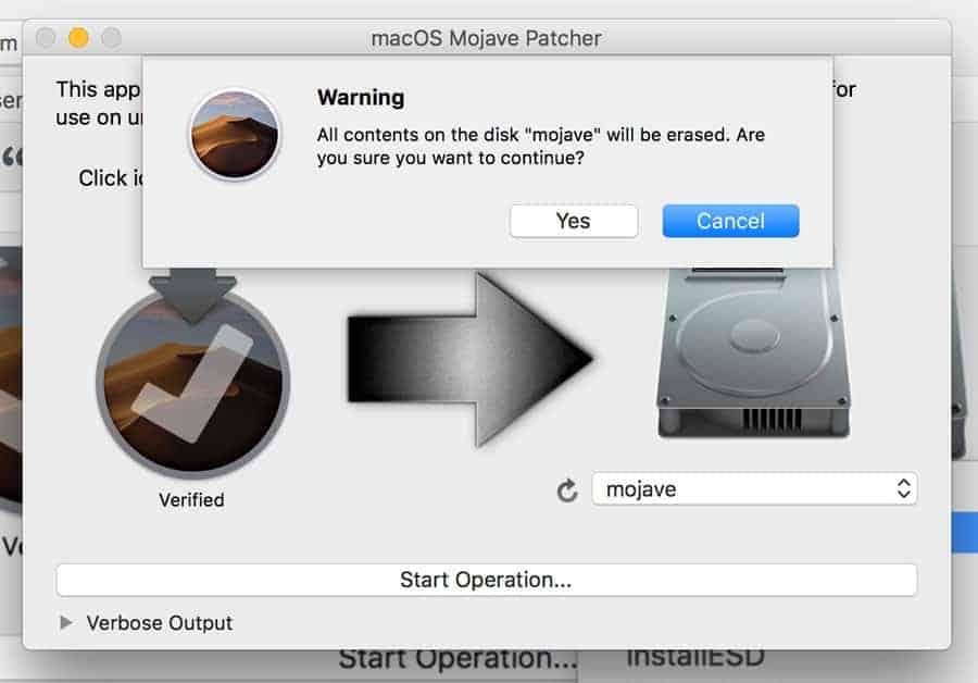 Cách cài macOS mojave lên máy Mac không được hỗ trợ 1