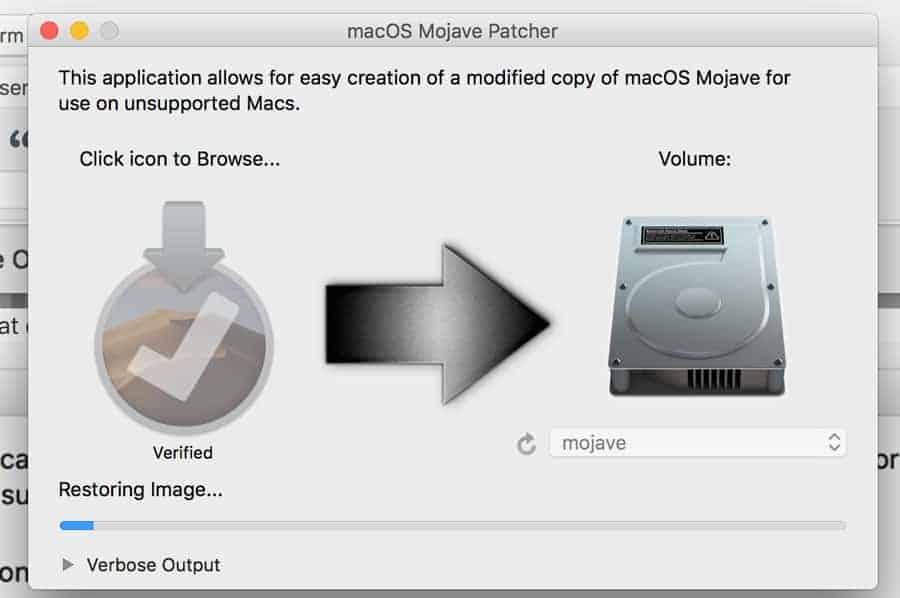 cài macOS mojave lên máy Mac không được hỗ trợ hình 7