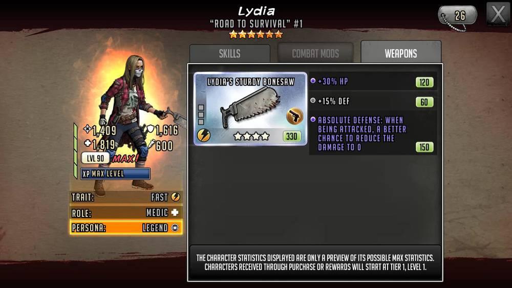 Nhân vật mới: Lydia 6