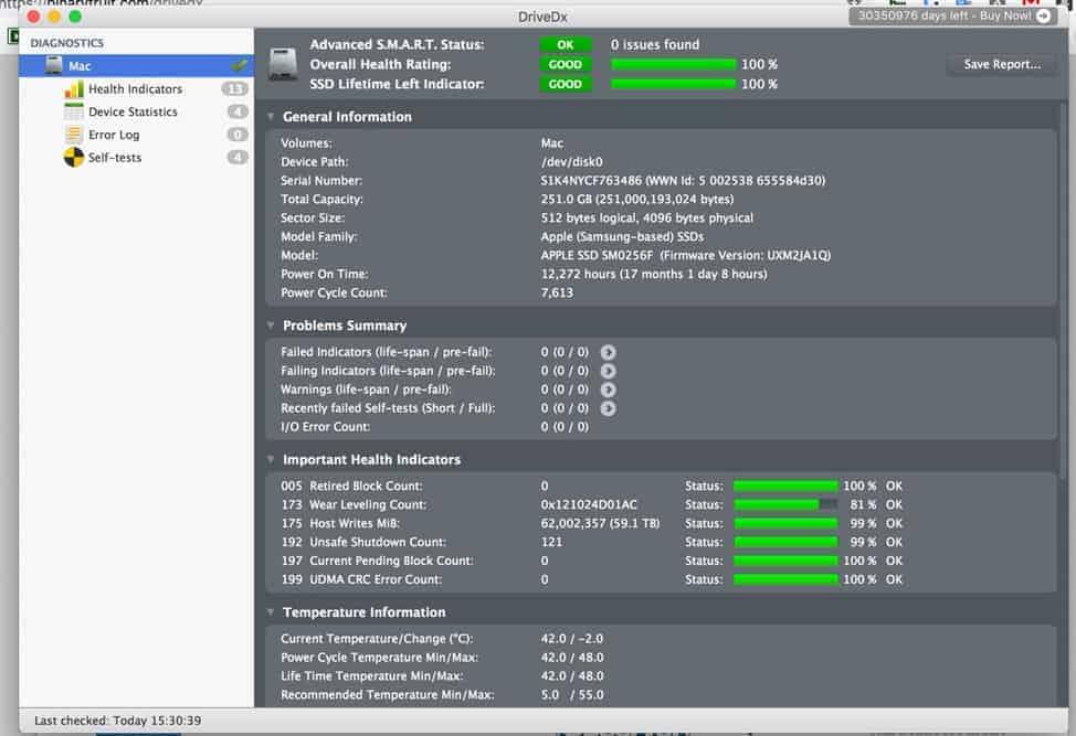 phần mềm macos drivedx
