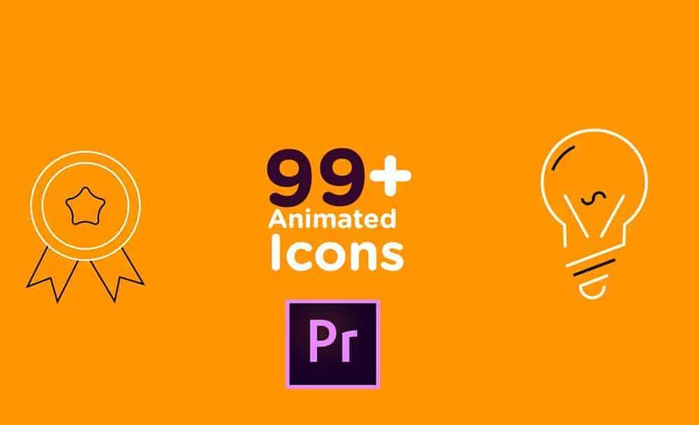 Bộ 99+ icon động cho Premier Pro
