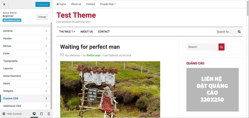customizewebsite