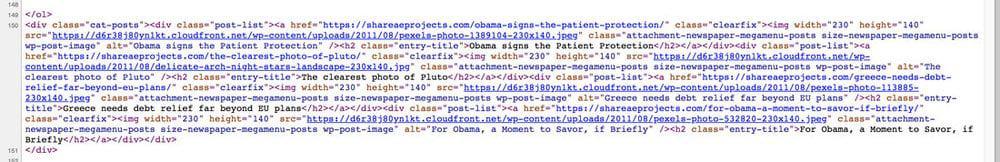 File ảnh lưu trên cloudfront