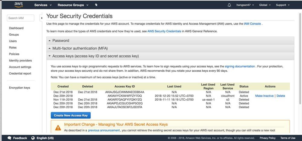 Sử dụng Amazon Cloudfront và W3 Total Cache để tăng tốc wordpress 1