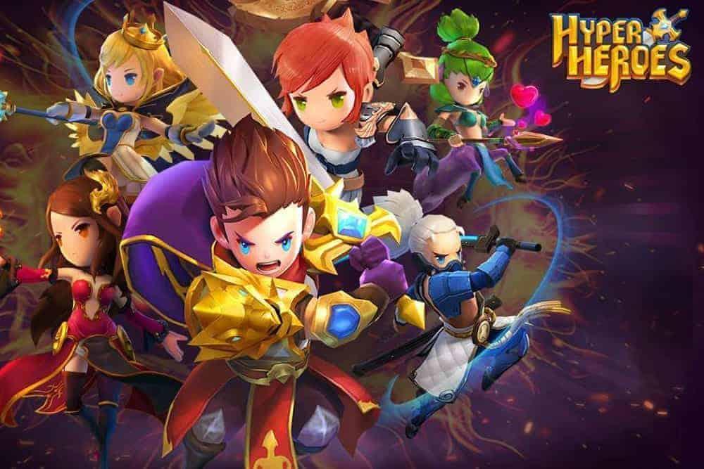 Hướng dẫn chơi Hyper Heroes