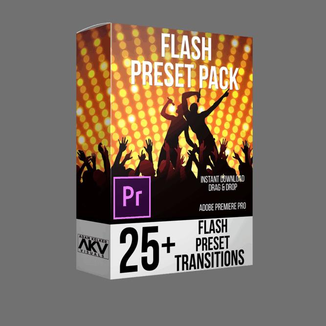 Flash Transition Preset Pack
