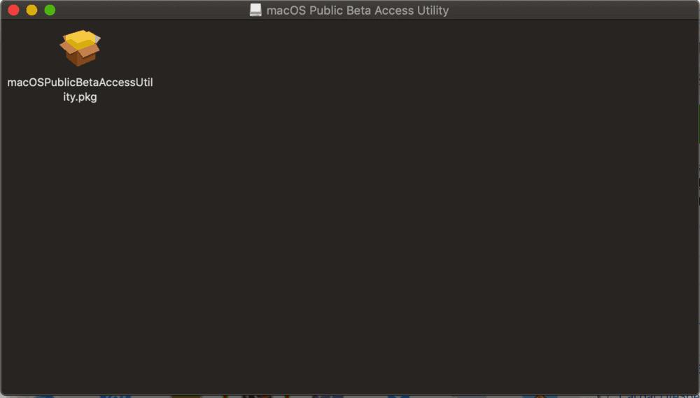 Cách cài đặt macOS 10.15 Catalina Public Beta 2