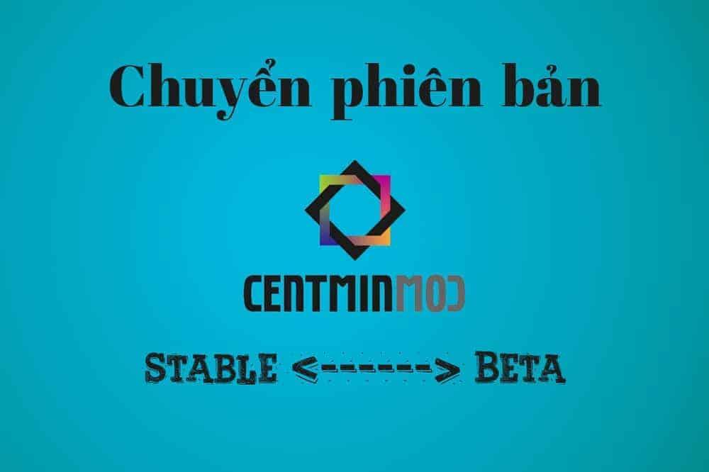 Cách chuyển phiên bản Centmin Mod