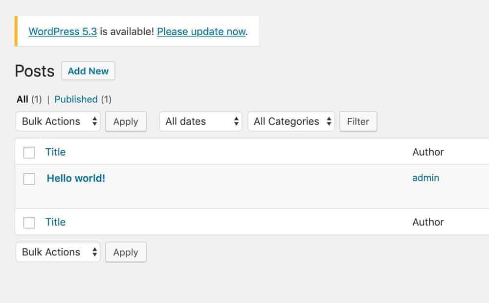 Wordpress 5.3 chính thức phát hành 3