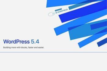 wordpress 5.4 cover