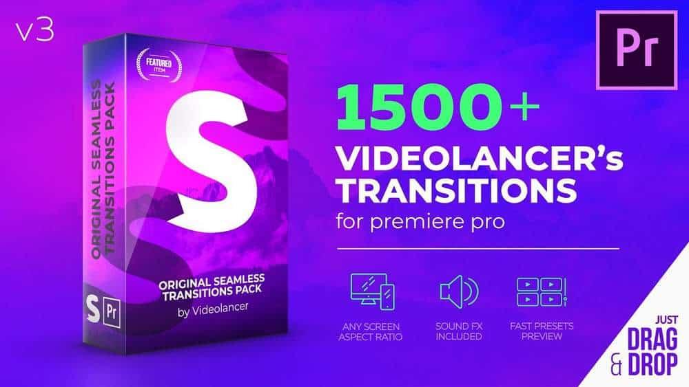 Videolancers Transitions for Premiere Pro