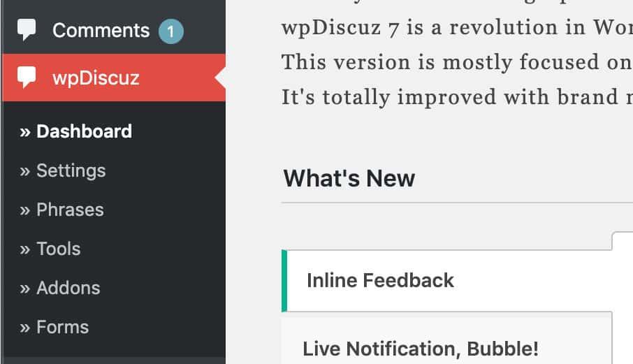 Có gì mới trên wpDiscuz 7 2