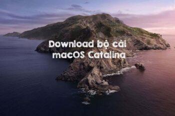 Download bộ cài macOS Cataljna